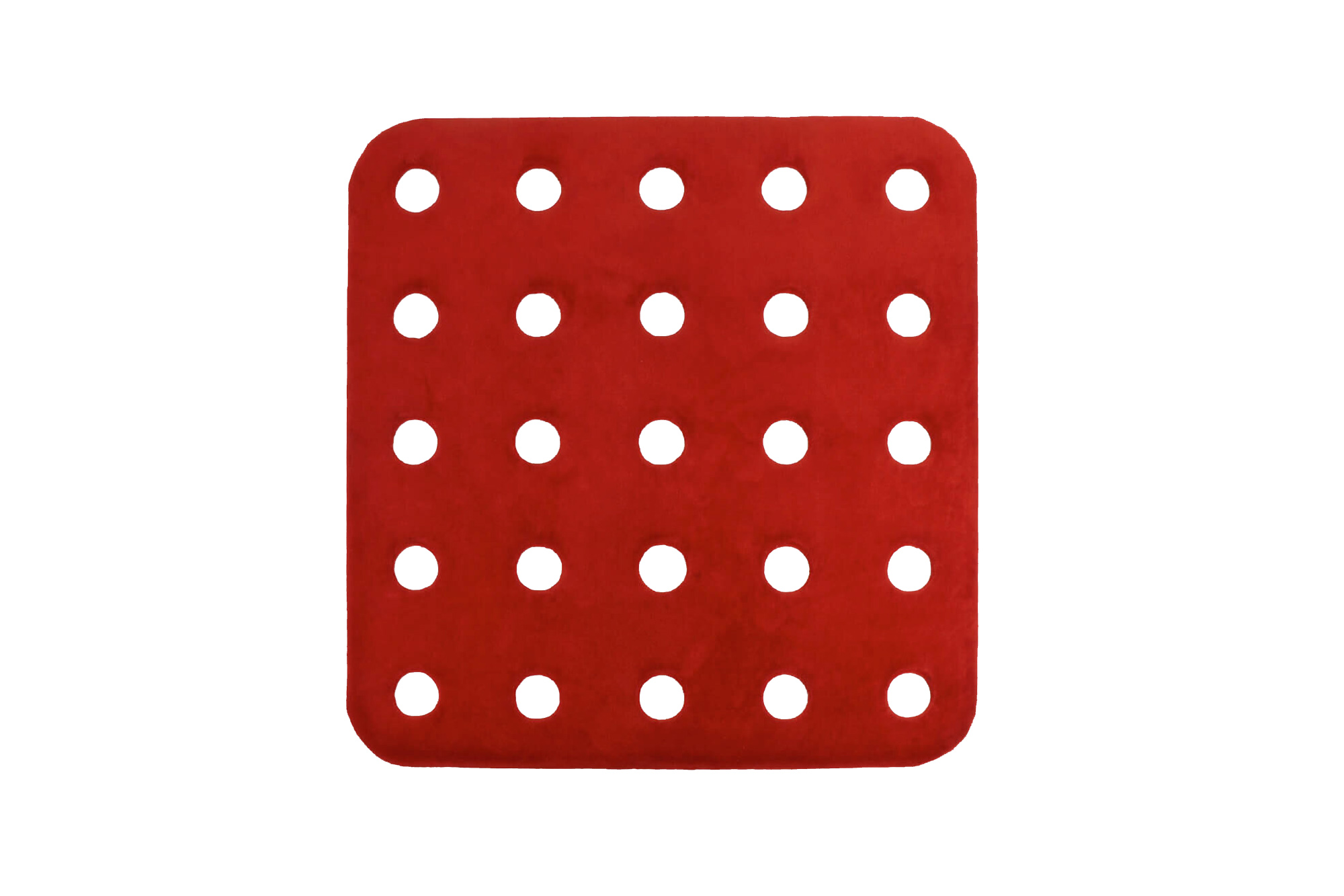 Homage to Meccano (Red) Rug