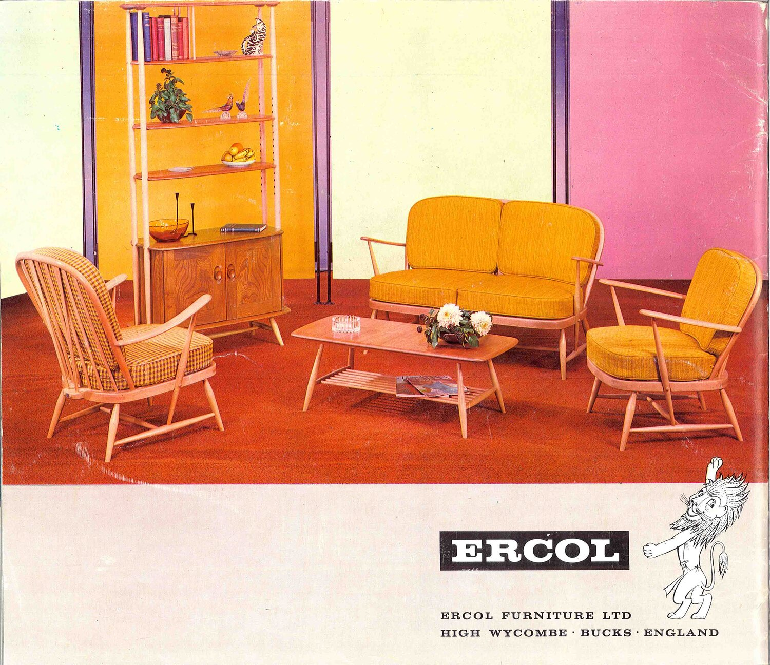 Then and Now: Ercol's Rich Design History