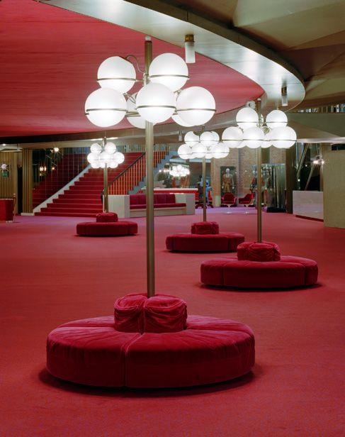 Gino Sarfatti Lighting Design for Piedmont Turin Regio Theatre (1973)