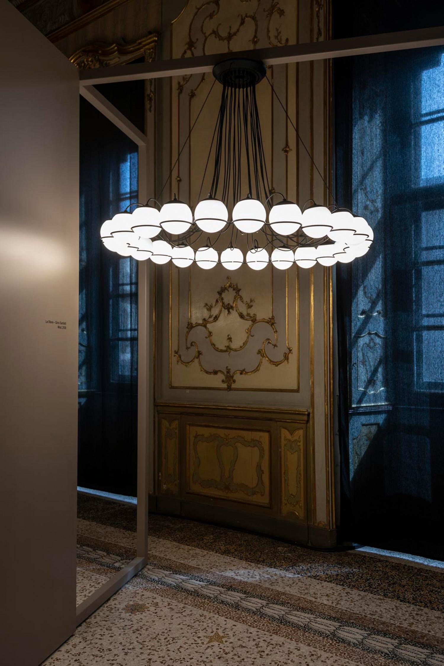 'Le Sfere di Gino Sarfatti' reintroduced at Milan Design Week 2018