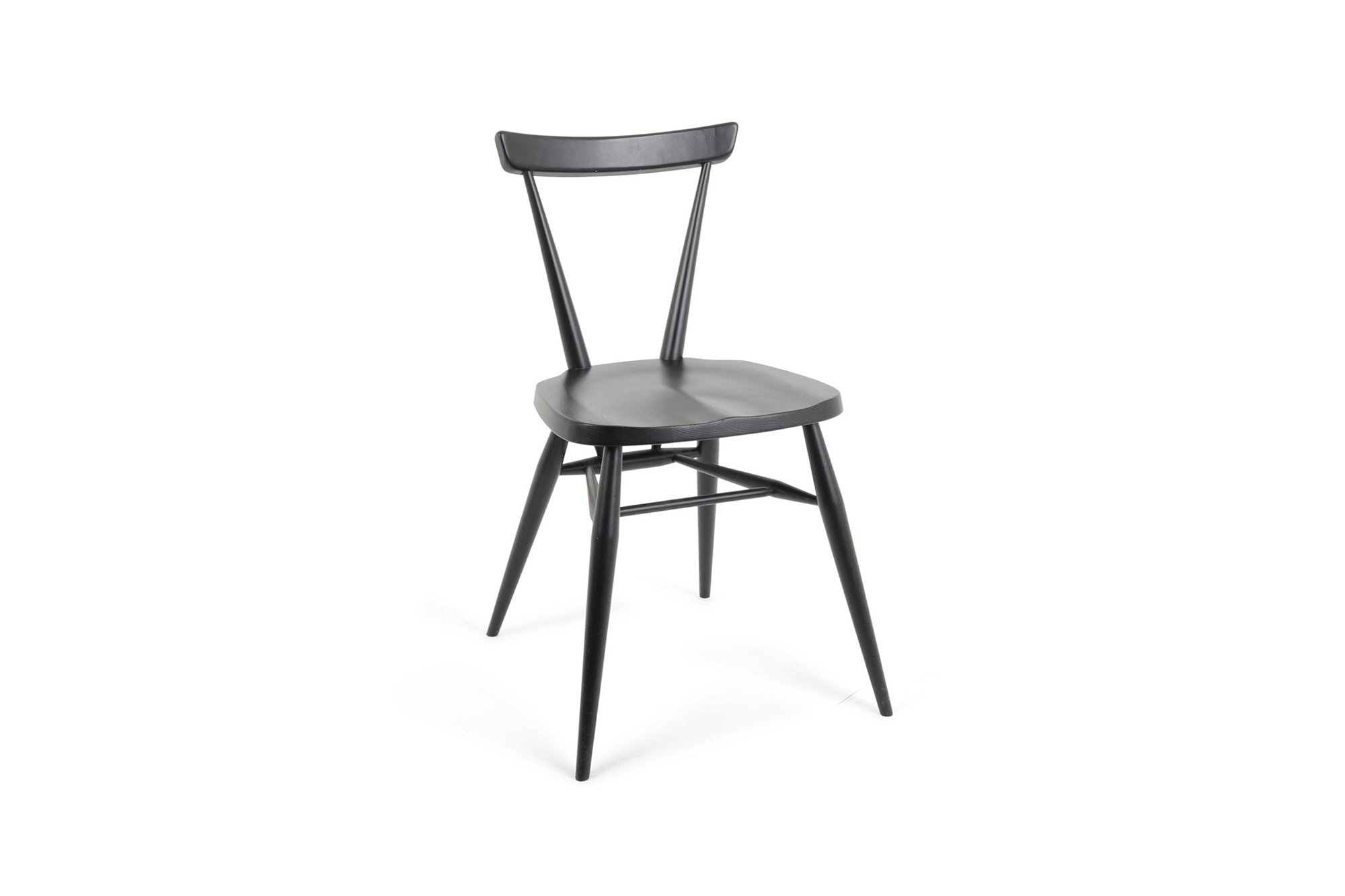 Originals Stacking Chair in Black