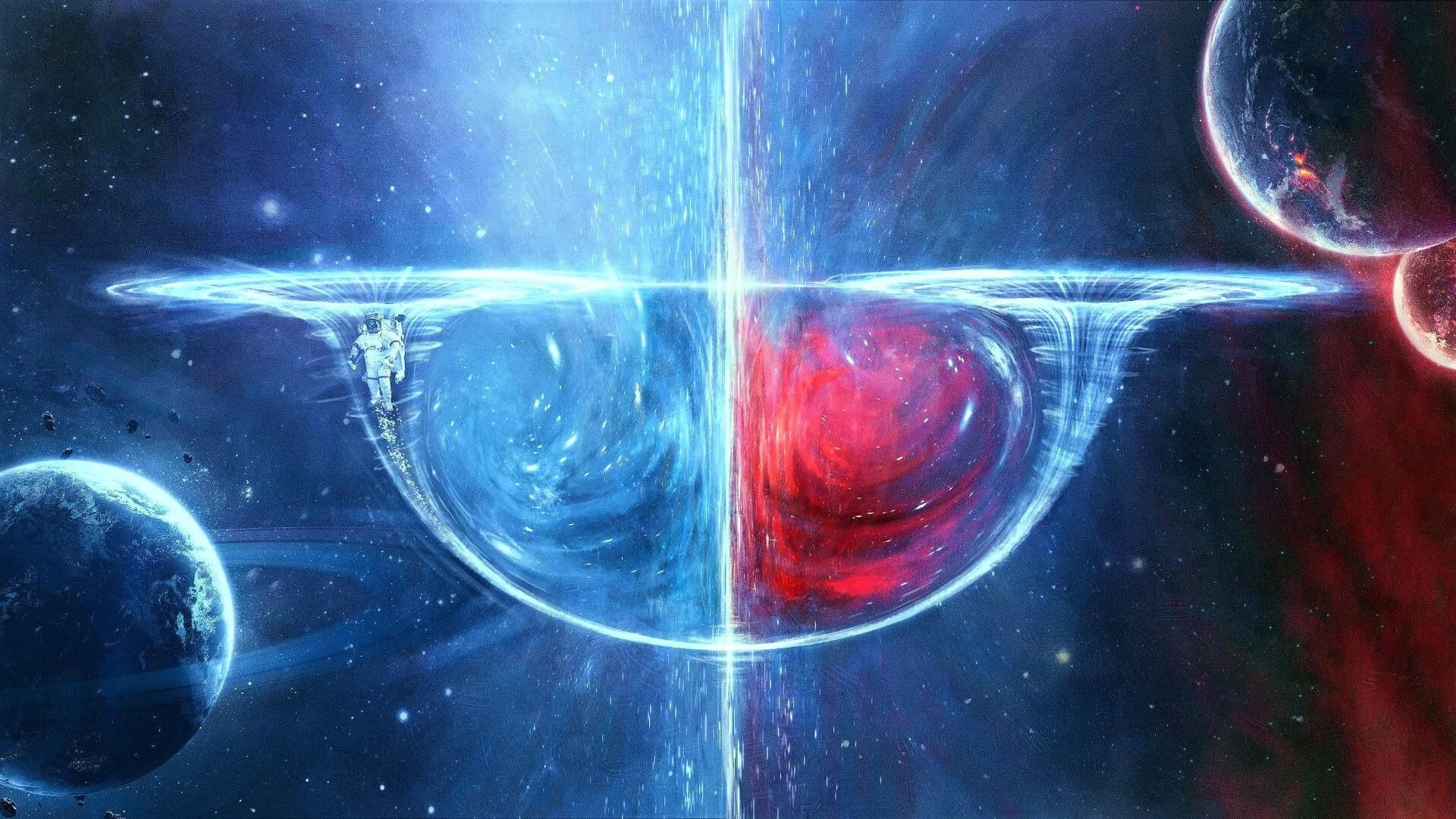 Wormholes in The Quran