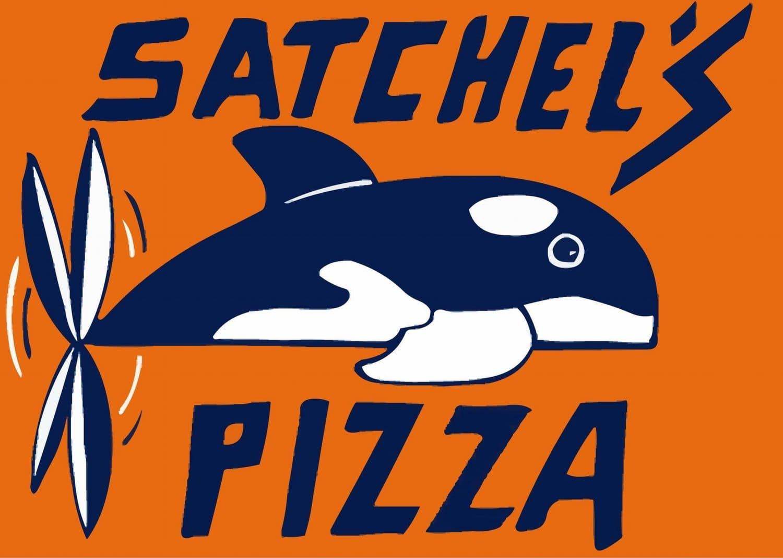 Satchel's Pizza Logo
