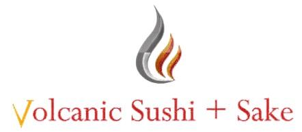 Volcanic Sushi and Sake Logo