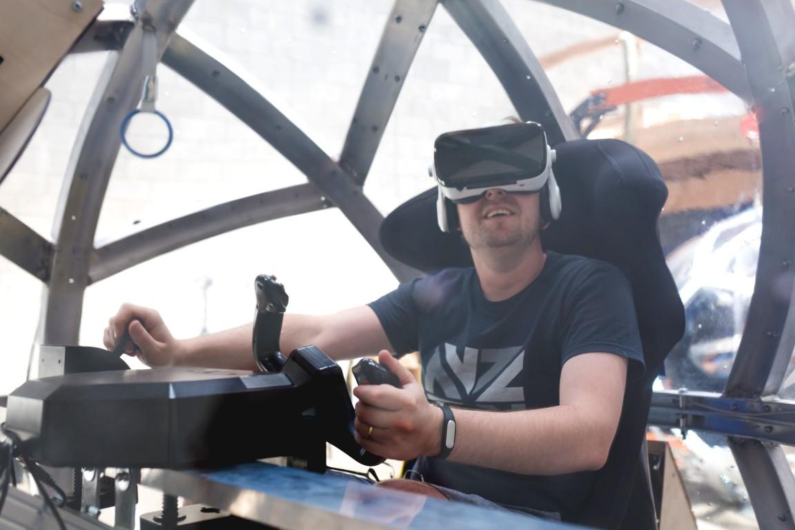 Eight360 NOVA virtual reality motion simulator platform