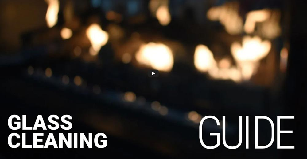 Cleaning of the glass door should be a standard part of seasonal maintenance for any fireplace owner. Avoid common mistakes and follow best practices in this step-by-step video guide from Montigo.
