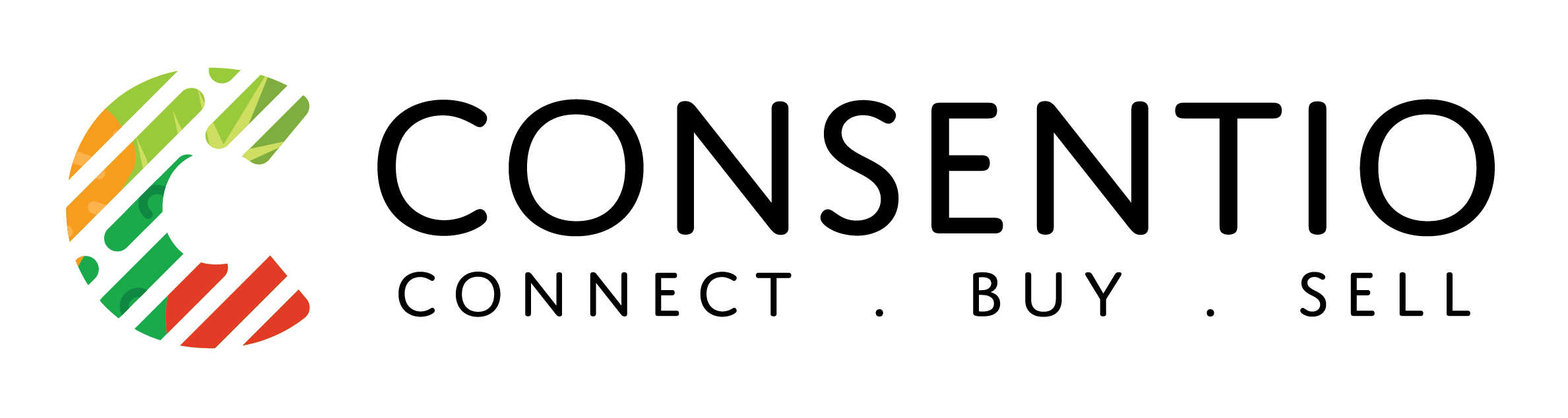 Consentio's logo for footer section