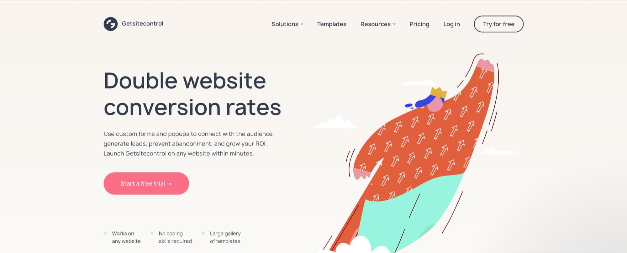 getsitecontrol website popup service