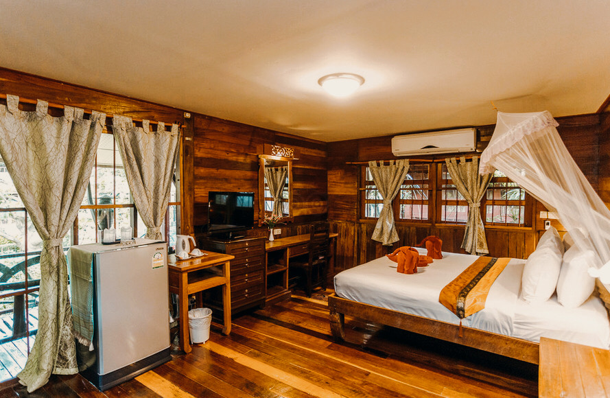 Traditional Wooden Bungalow