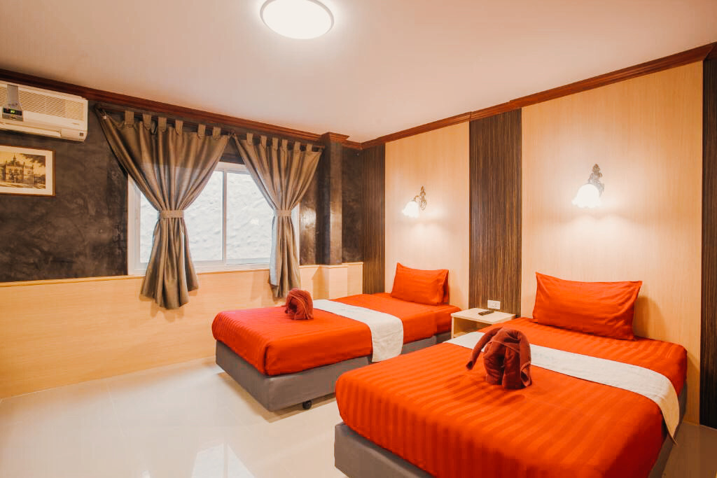 Family 2 bedrooms for 4 travellers