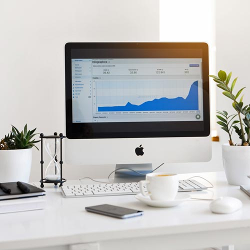 Apple with analytics