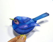 Blue Bird Sticker