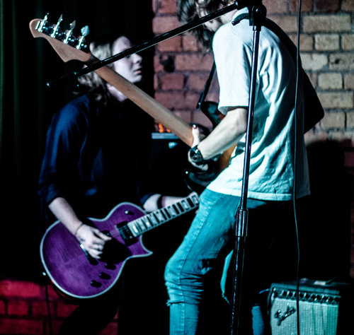 Daniel Markham and Matt Fox from Scantily Clad