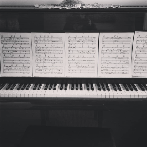 Madeleine's piano