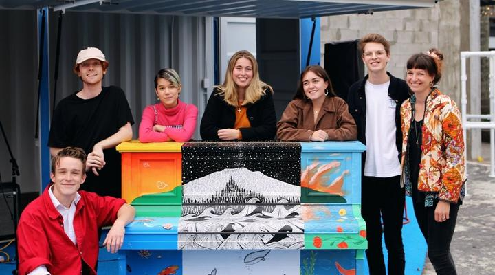 Finding creative work for young people