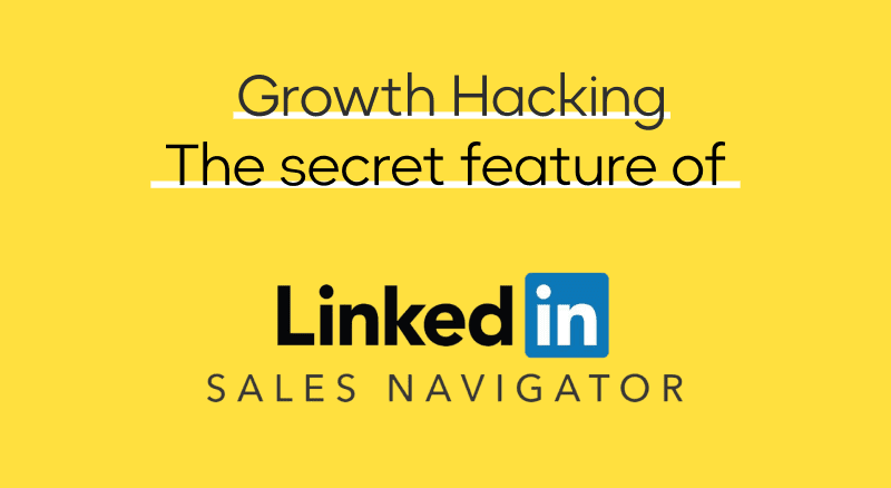 Hack Linkedin to import your business listings in .csv on Sales Navigator
