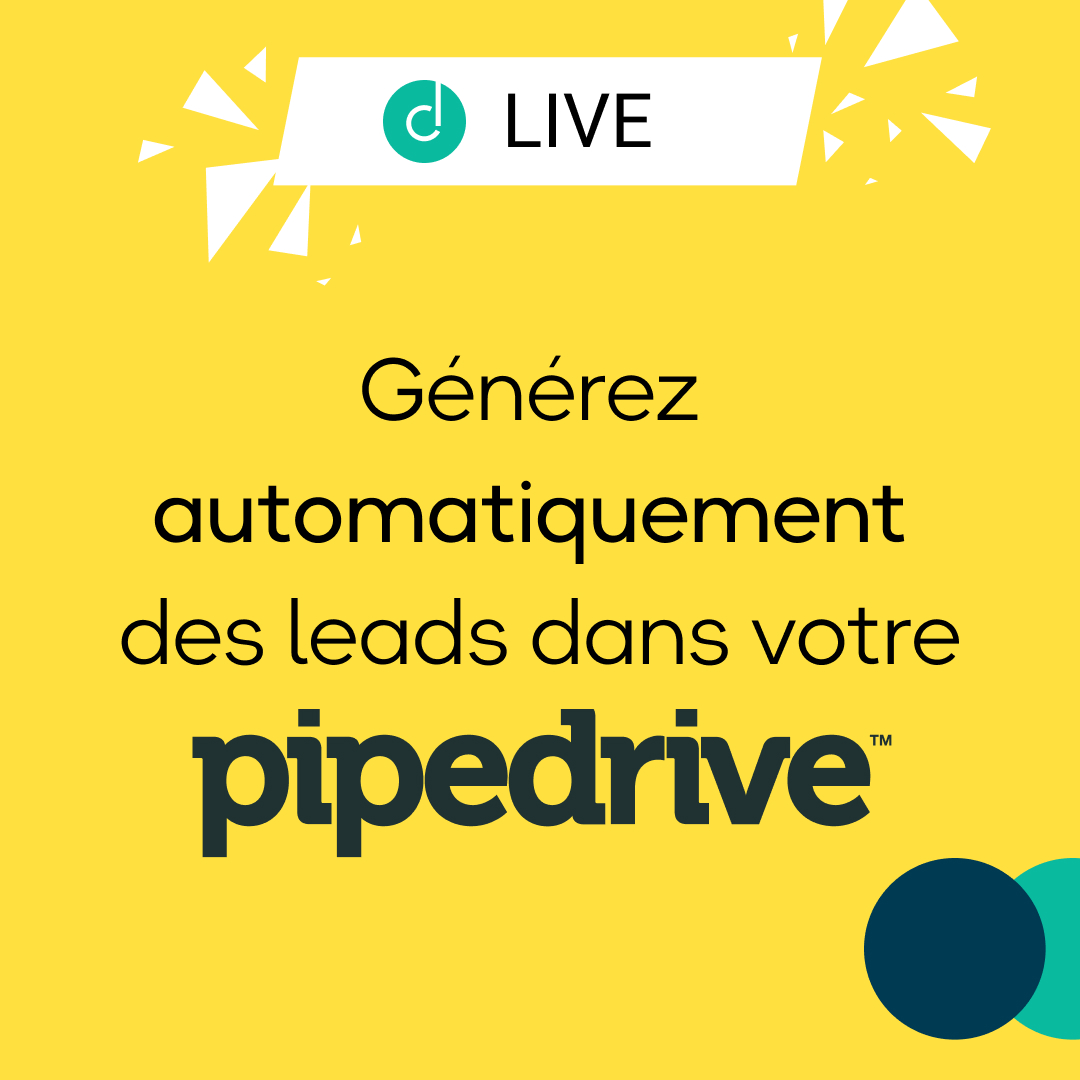 Live - Automatically generate leads in your Pipedrive