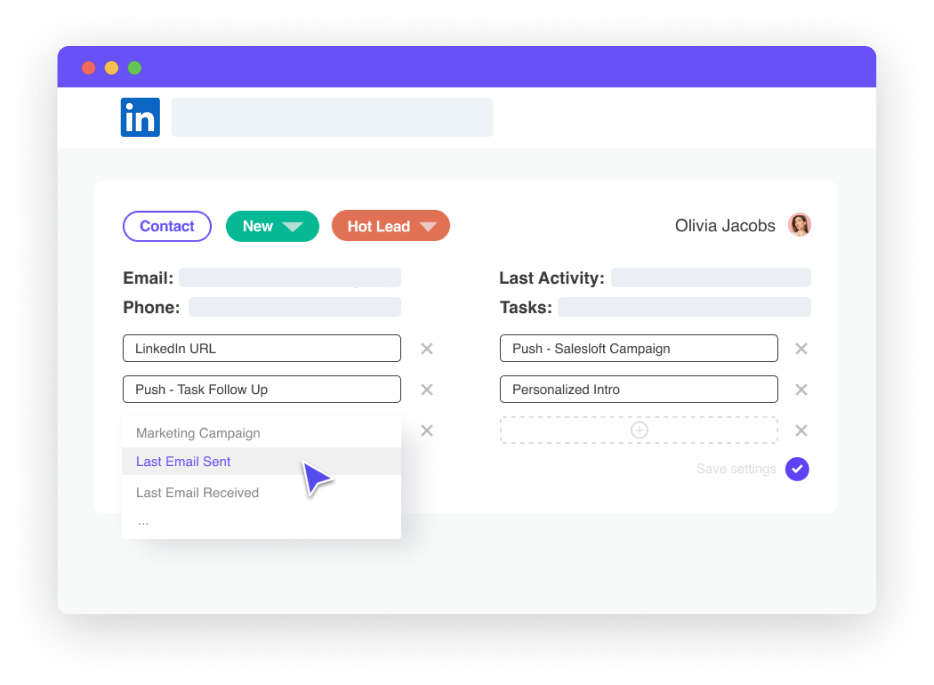 Leadjet - LinkedIn automation et multi canal : Cold Email