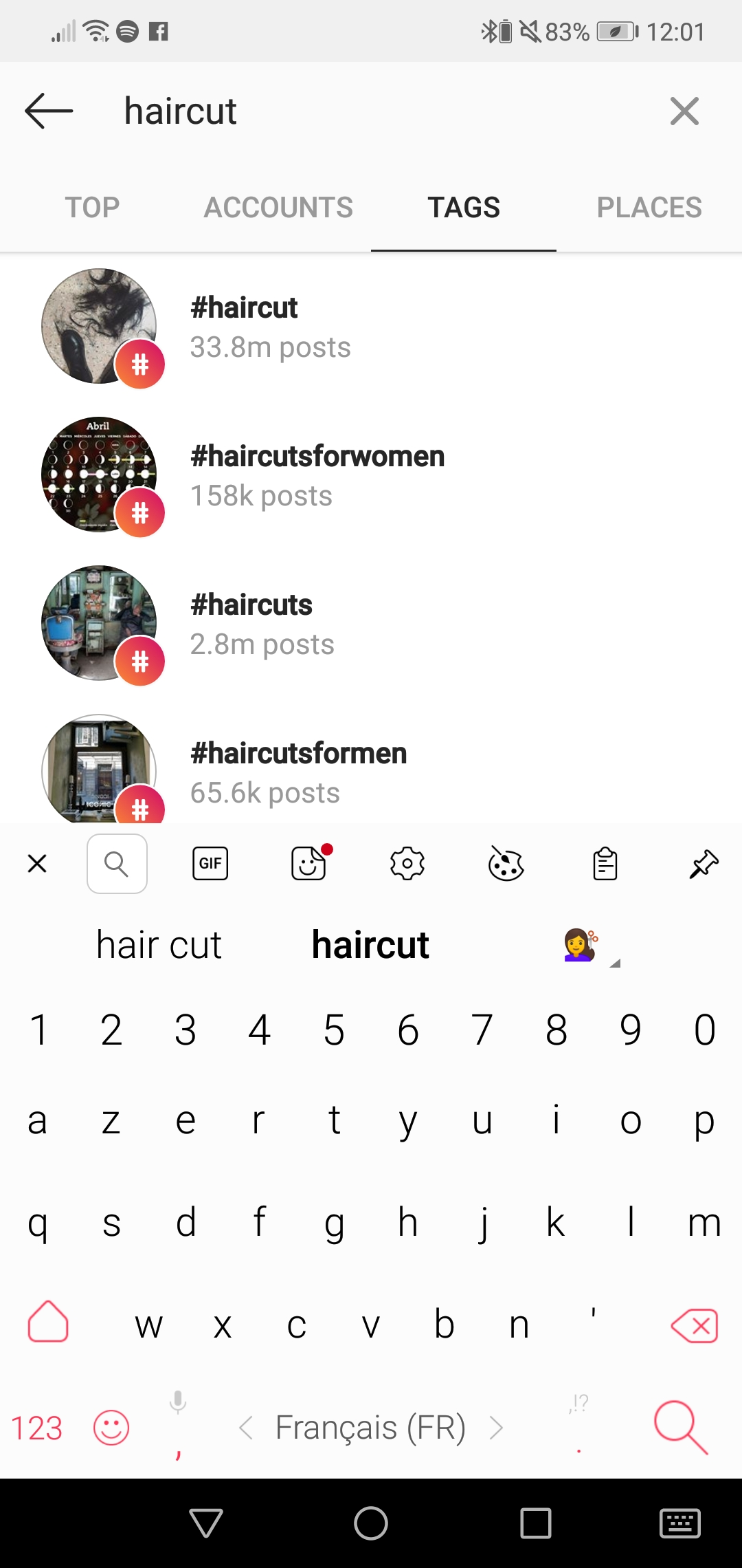 The hashtags for your hairdressing salon 1