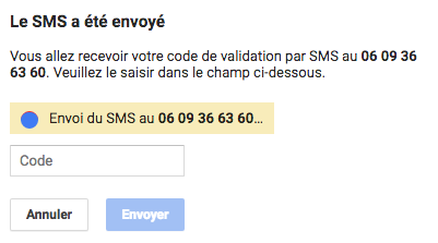 Validation de la fiche GMB 2