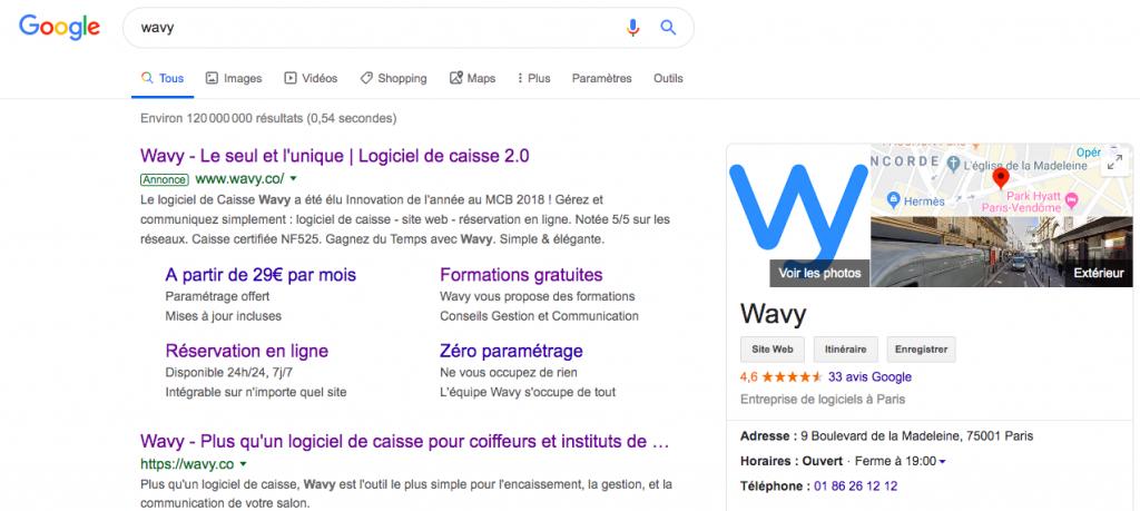 Google My Business Wavy