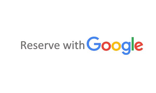 réserver avec google