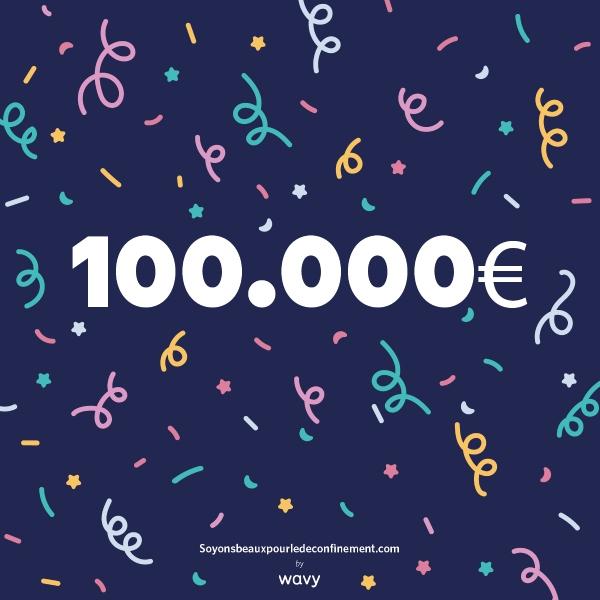 100K soyonsbeauxpourledeconfinement.com
