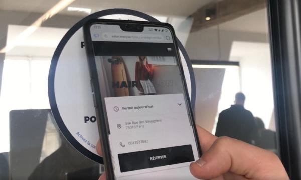 sticker nfc smartphone
