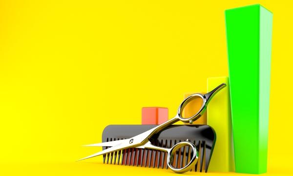 statistiques salon de coiffure