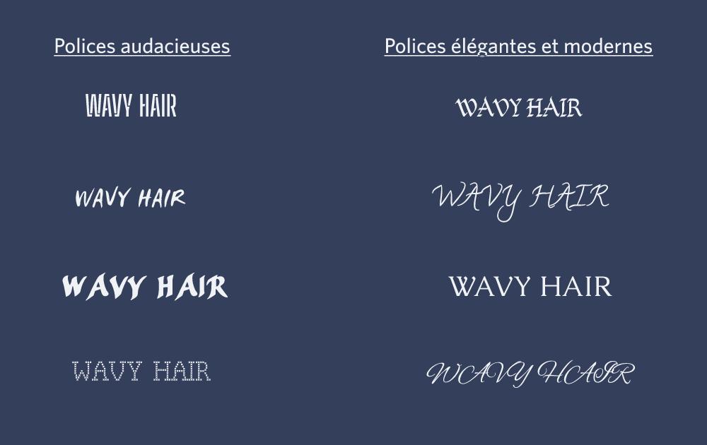How do you design the logo of your hair salon or beauty salon?