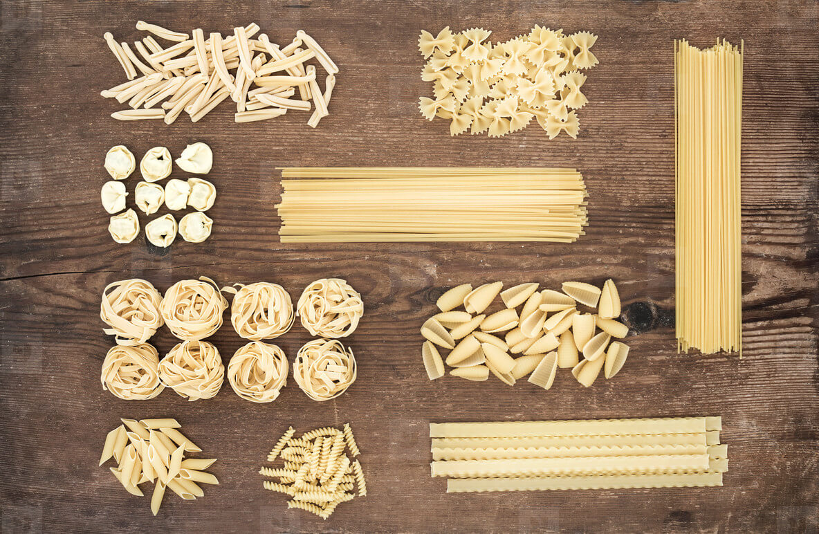 The Most Commonly Used Types Of Pasta