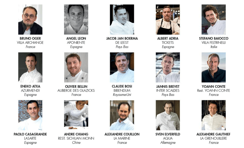 top chefs in the world