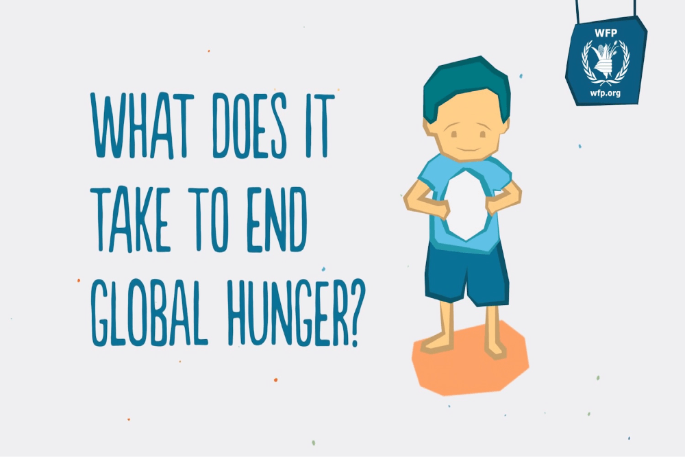 ShareTheMeal: Together We Can End Hunger