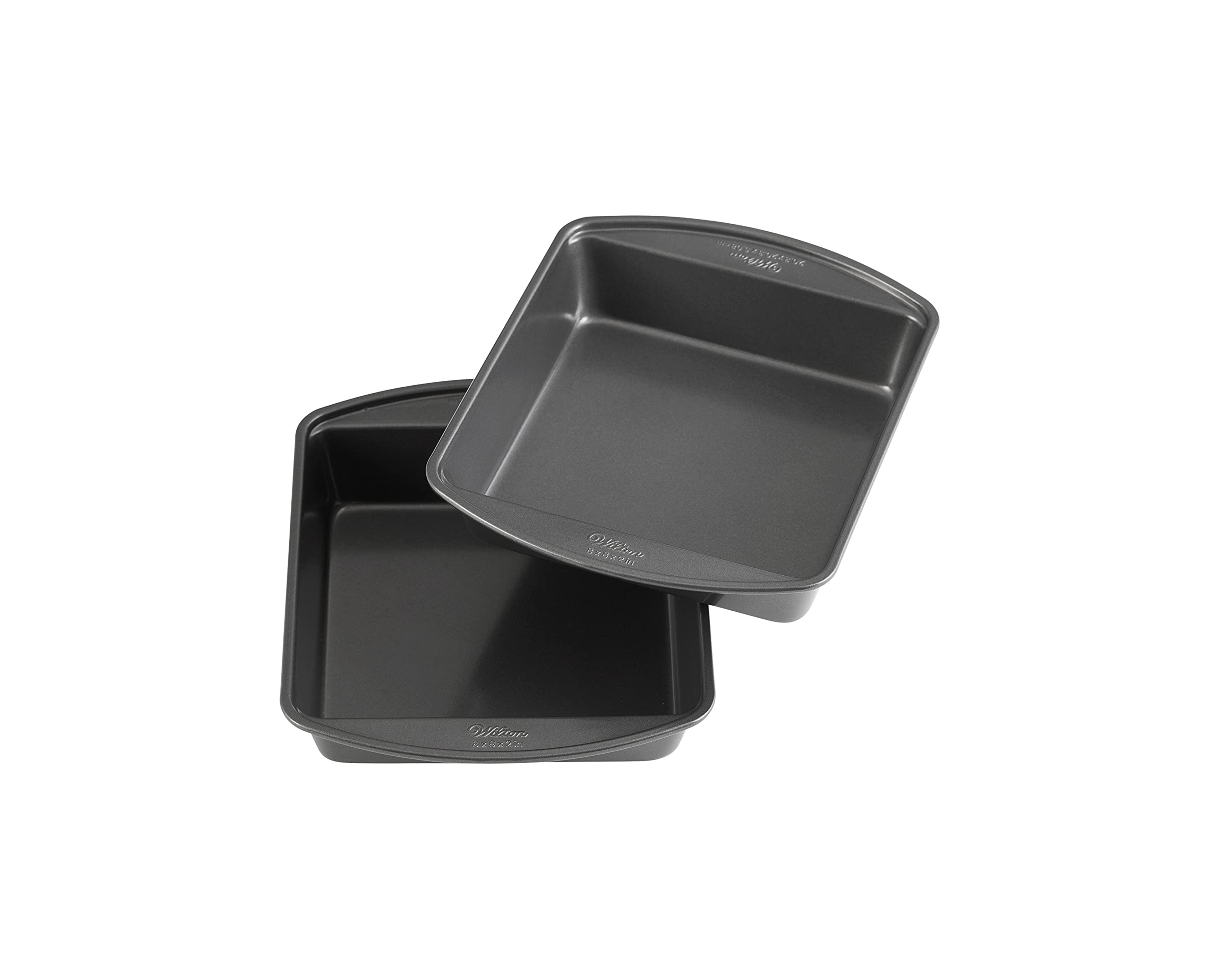 Wilton Non-Stick 8-Inch Square Cake Pans