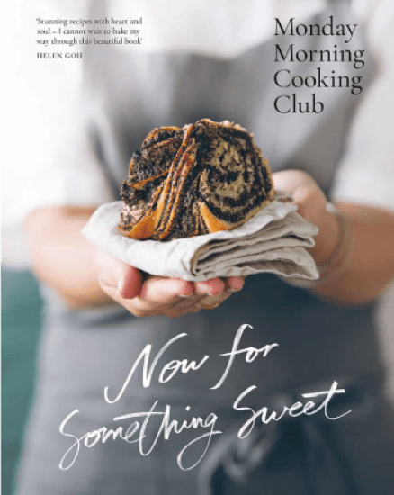 now for something sweet cookbook