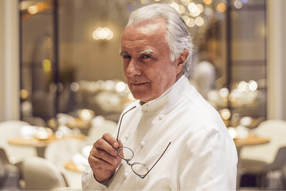 Who is the Chef with the most Michelin Stars?