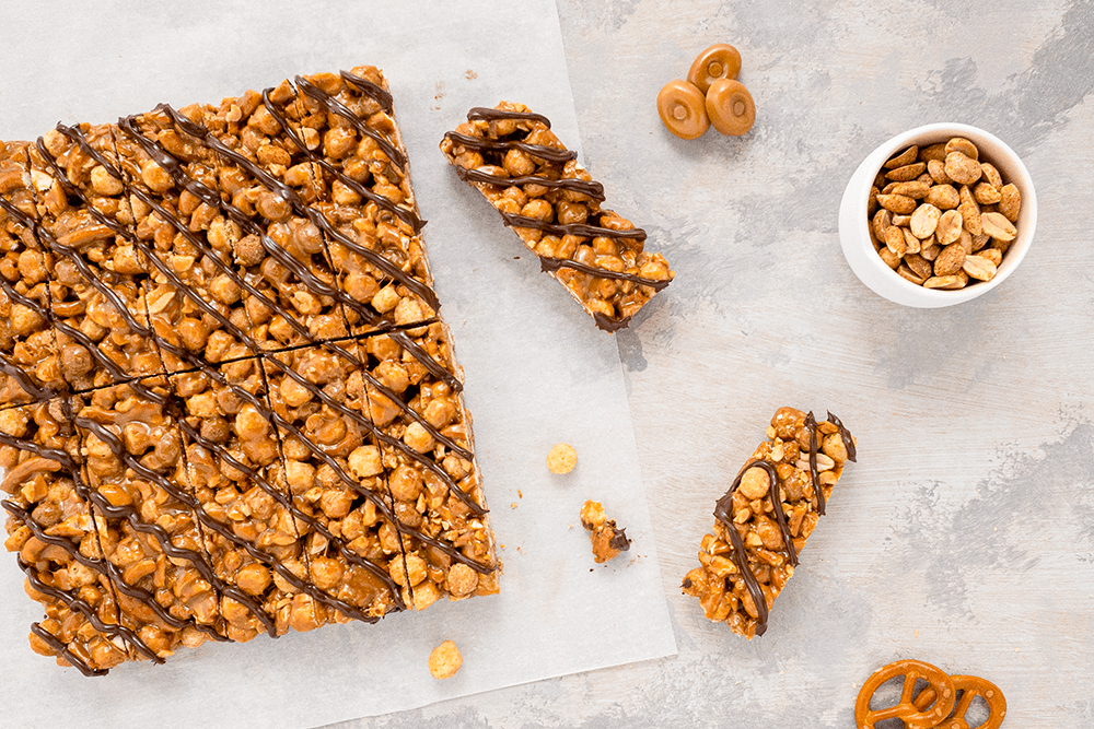 Peanut Butter Cereal Bar Recipe