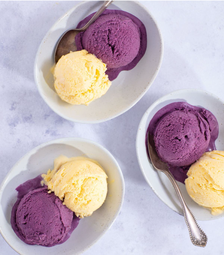 roses ice cream bliss