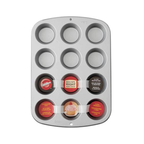 Wilton 12-Cup Non-Stick Muffin Pan