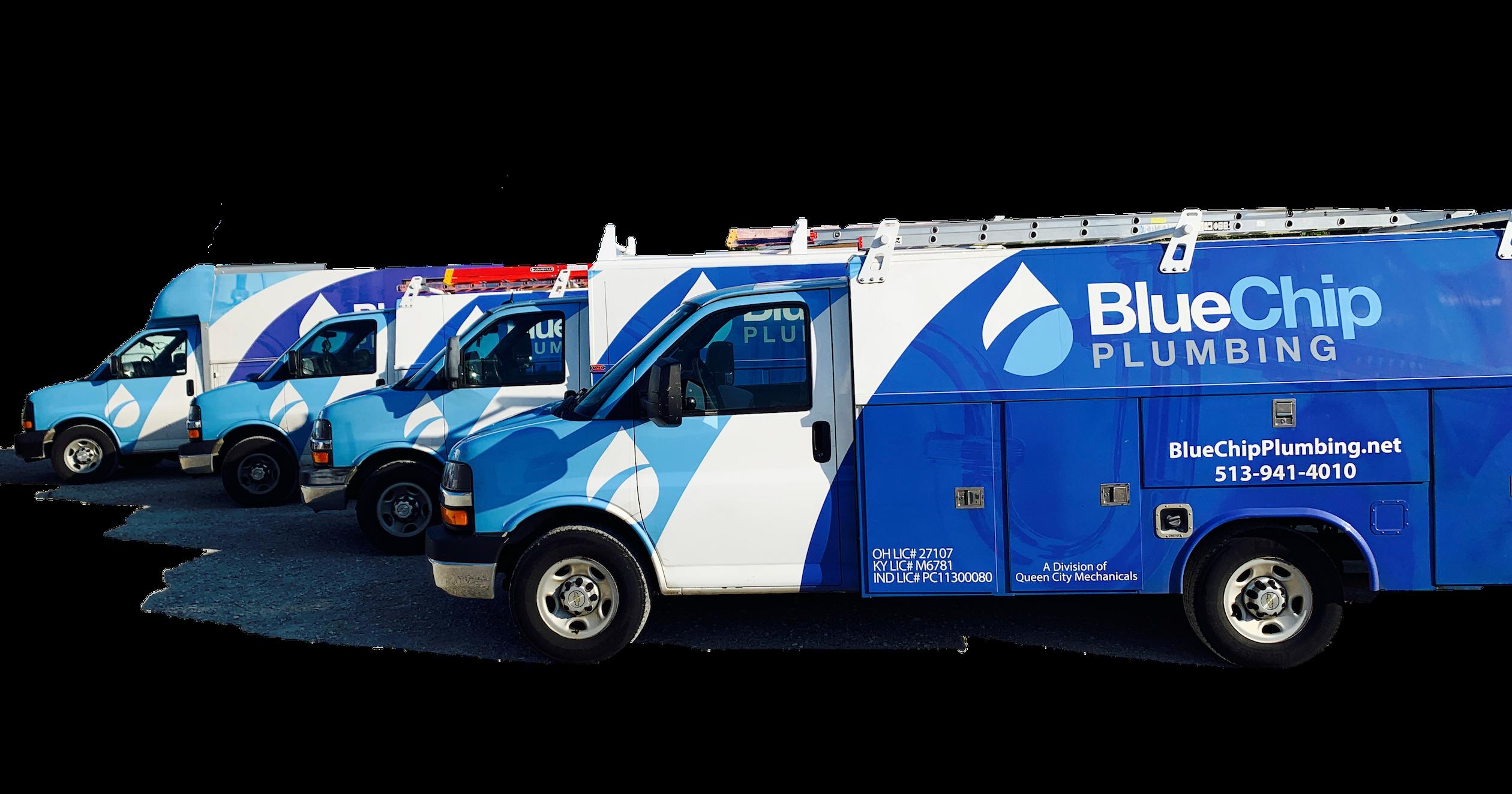 Plumbing Service Vehicles