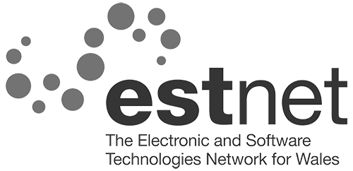 The Electronic and Software Technologies Network for Wales logo