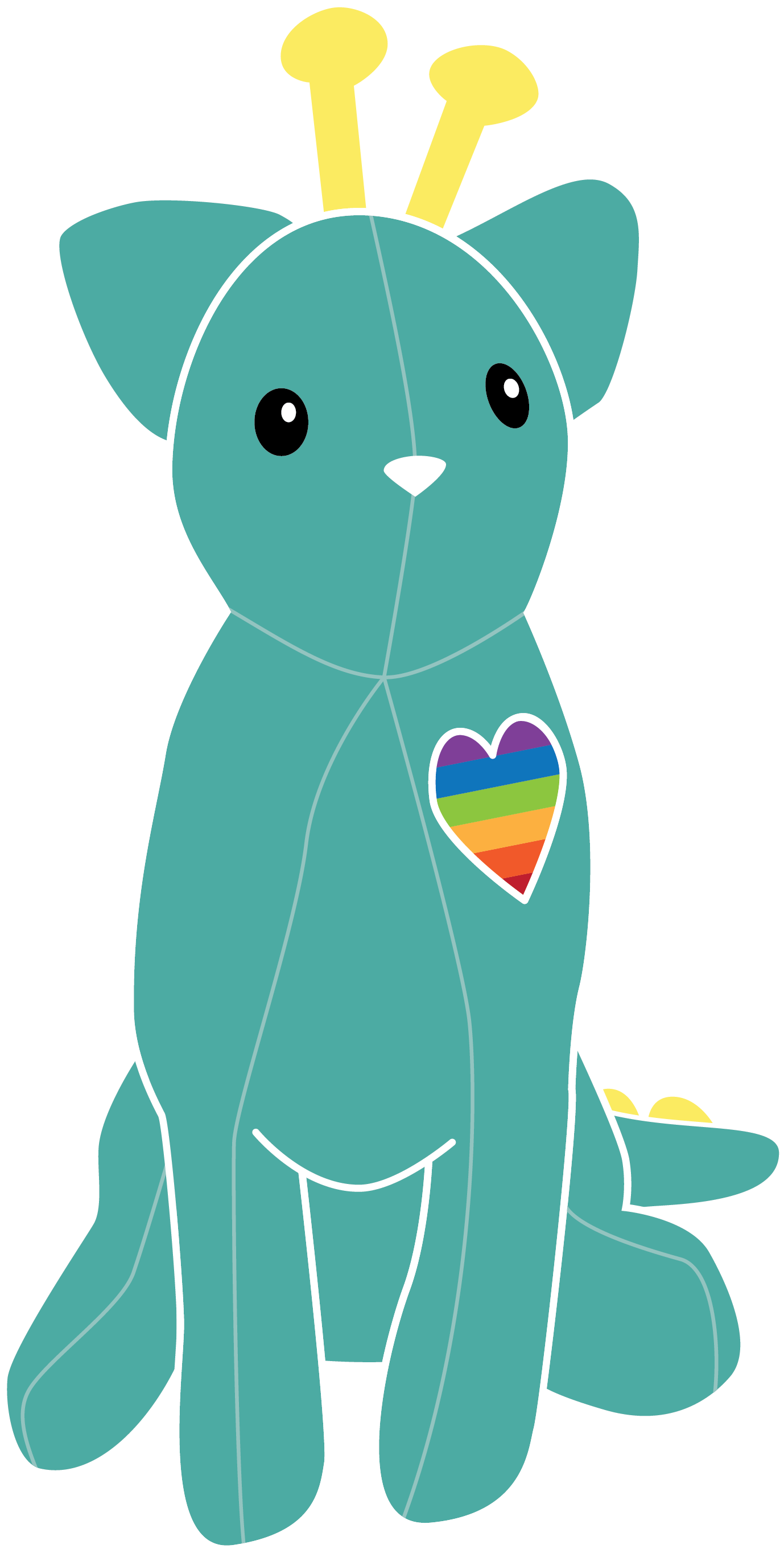 Image of Amica, a plush toy made to teach kids empathy.