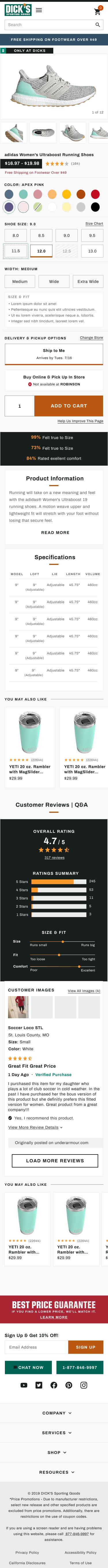 Product Details Page Final Mobile Design