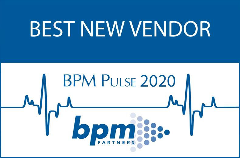 BPM Best new vendor award