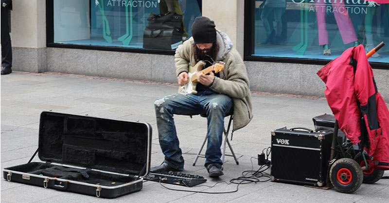 from one-man band to satisfactory business scale