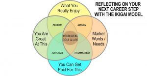 ikigai and career steps planning