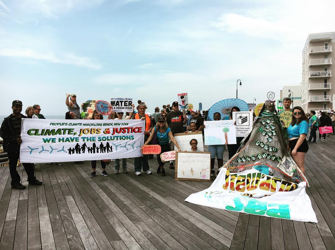 An image of Long Island Organizations for climate justice