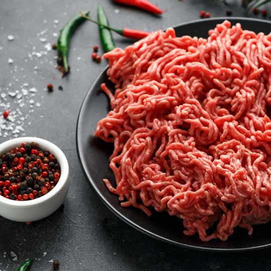 Premium Beef Mince - Ready for rissoles, spaghetti bolognese or savoury mince.