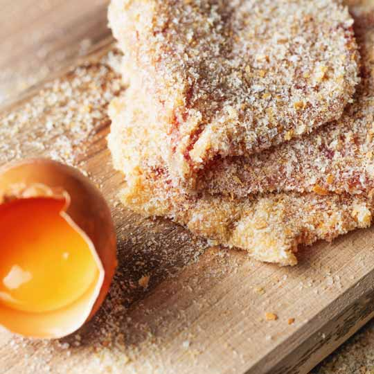 Crumbed Veal Scallops - Ready to pan fry golden brown and impress the family.