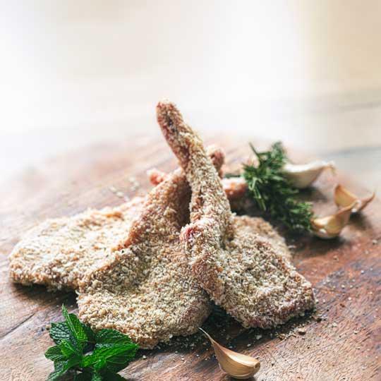 Crumbed Lamb Cutlets